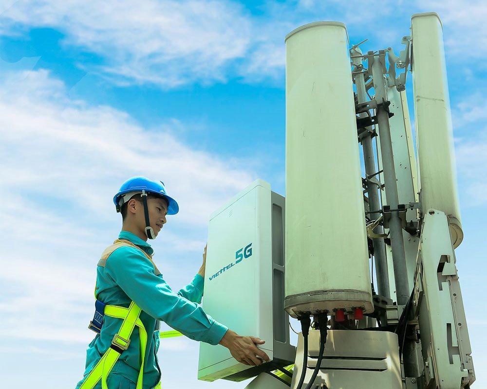 Ngày 9/8/2019, Viettel phát sóng thử nghiệm trạm 5G đầu tiên tại TP. Hồ Chí Minh