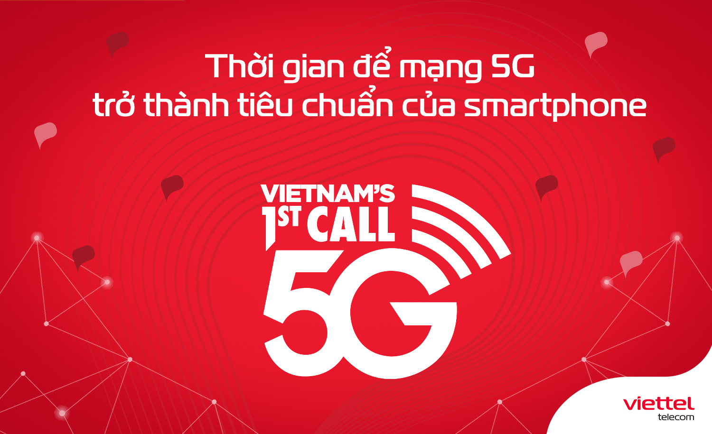 Mạng 5G sẽ là 1 trong những tiêu chuẩn sản xuất thiết bị smartphone trong tương lai