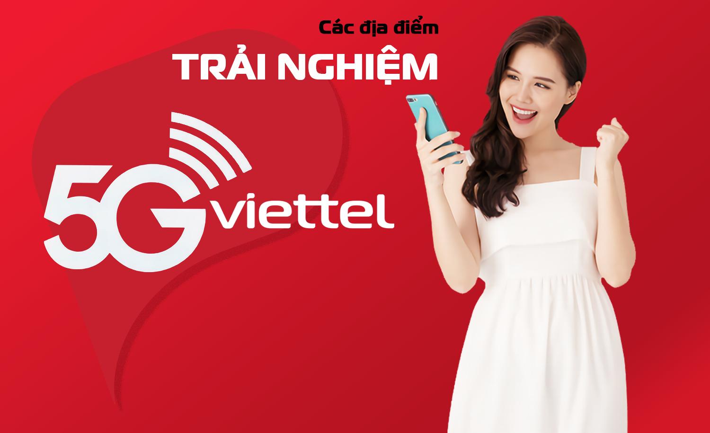 Các địa điểm triển khai chương trình trải nghiệm 5G tại Hà Nội và TP. Hồ Chí Minh