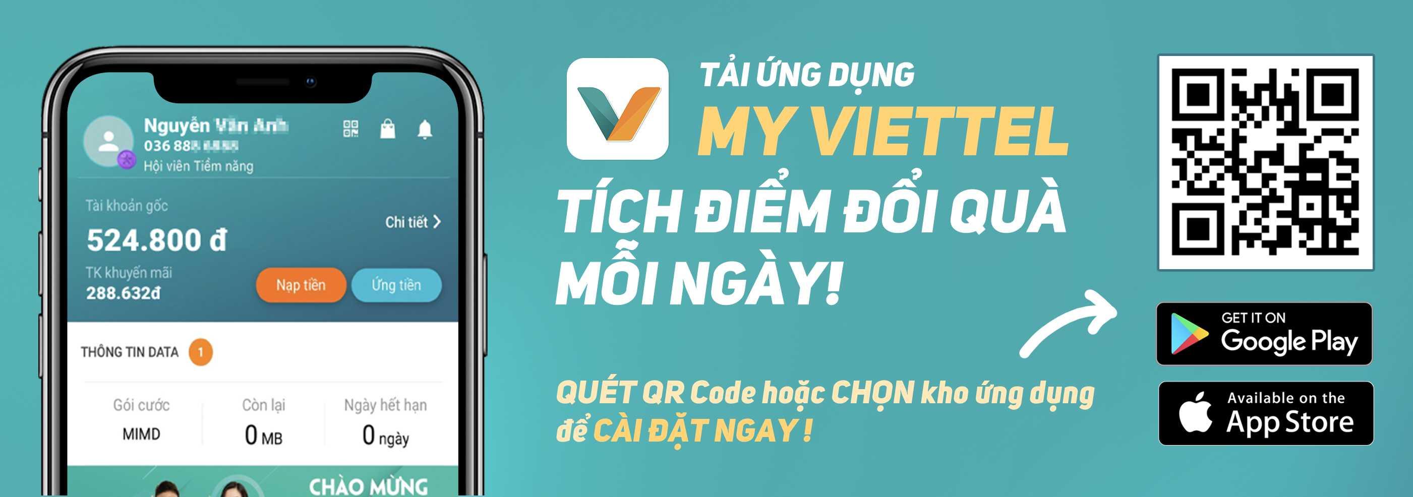Tải app myviettel