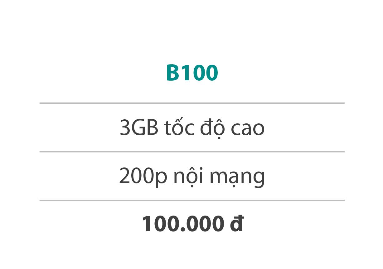 Gói cước B100