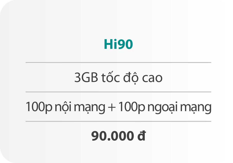 Gói cước Hi90