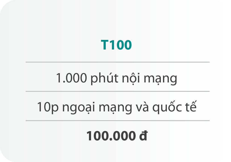 Gói cước T100