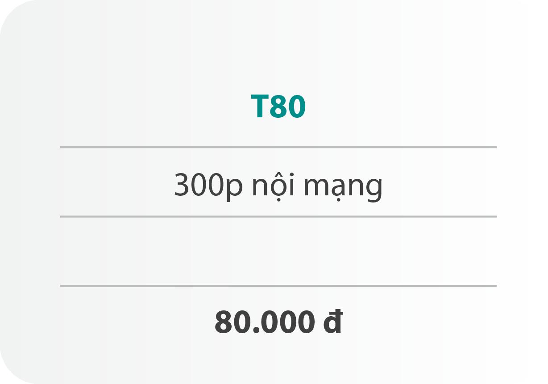Gói cước T80
