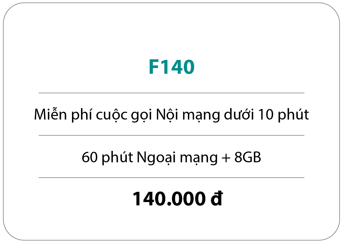 Gói cước F140