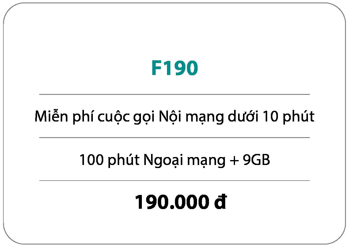 Gói cước F190