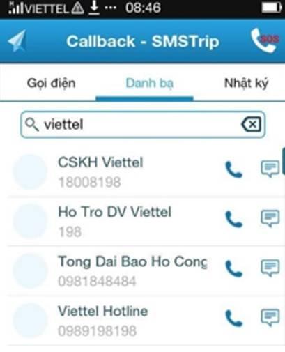 Trang dịch vụ quốc tế - Chi tiết dịch vụ