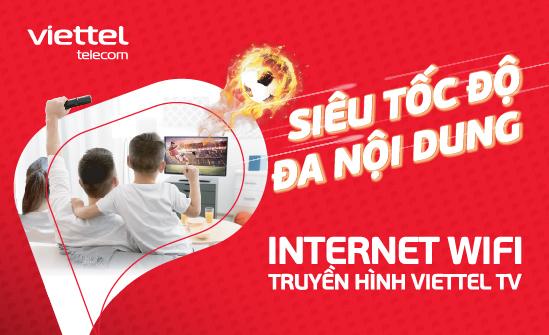 Gói cước Internet – Truyền hình Viettel