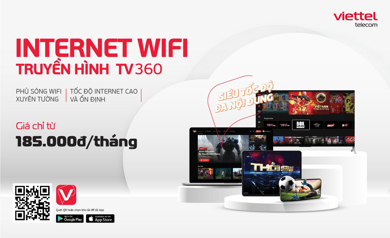 internet wifi truyền hình TV360