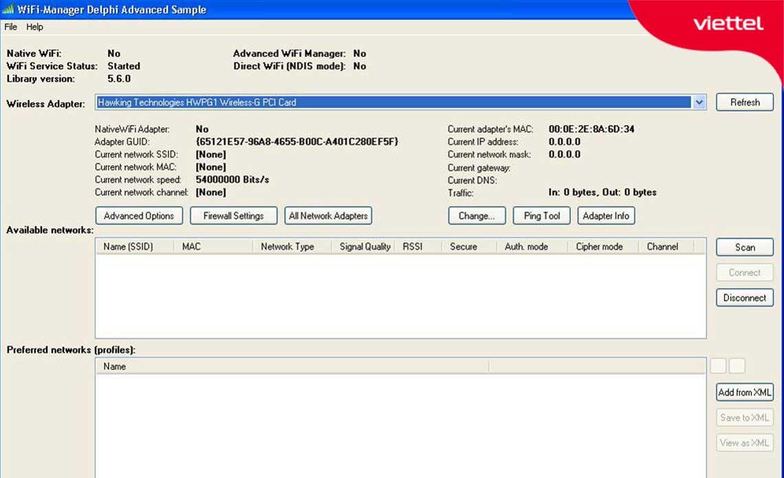 Advanced WiFi Manager hỗ trợ người dùng giám sát kết nối của WiFi.