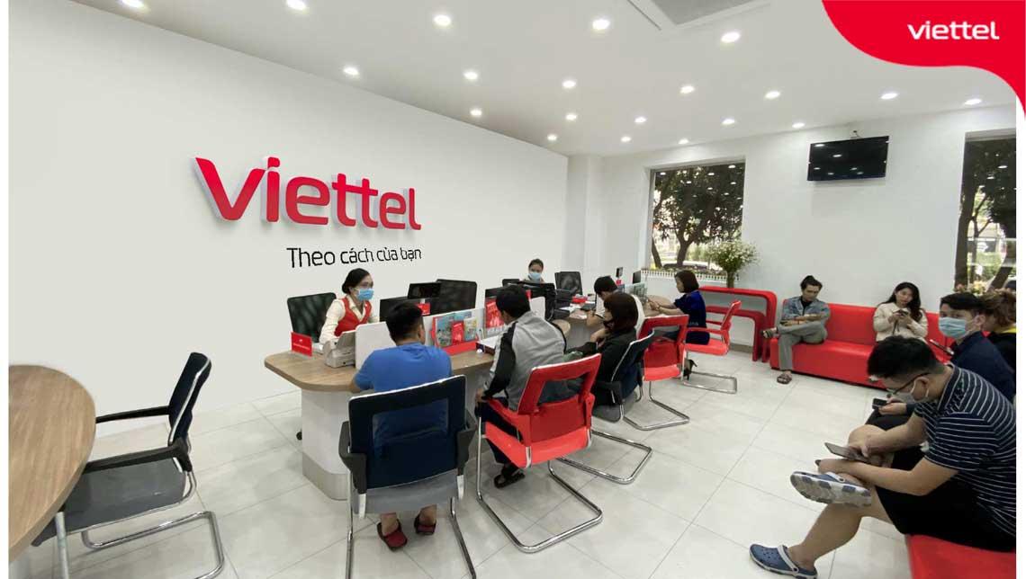 Báo cáo sự cố mạng tại điểm giao dịch Viettel.