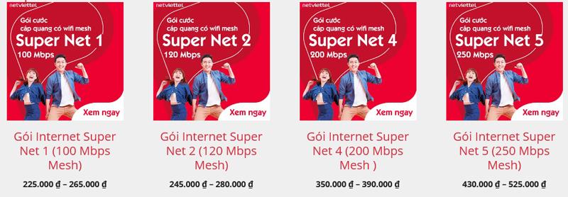 Mua gói SuperNet Viettel giúp tăng tốc độ wifi, xóa tan nỗi lo mạng wifi chập chờn, lúc mạnh, lúc yếu
