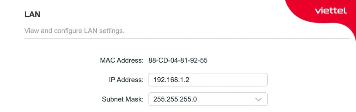 Đặt IP cố định cho Router Wifi phụ để tránh bị trùng IP dẫn đến mất mạng