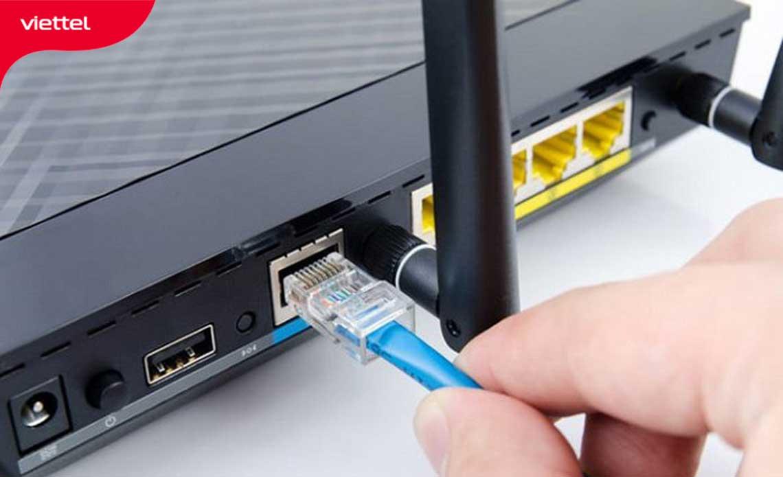 Quan sát Modem Router wifi
