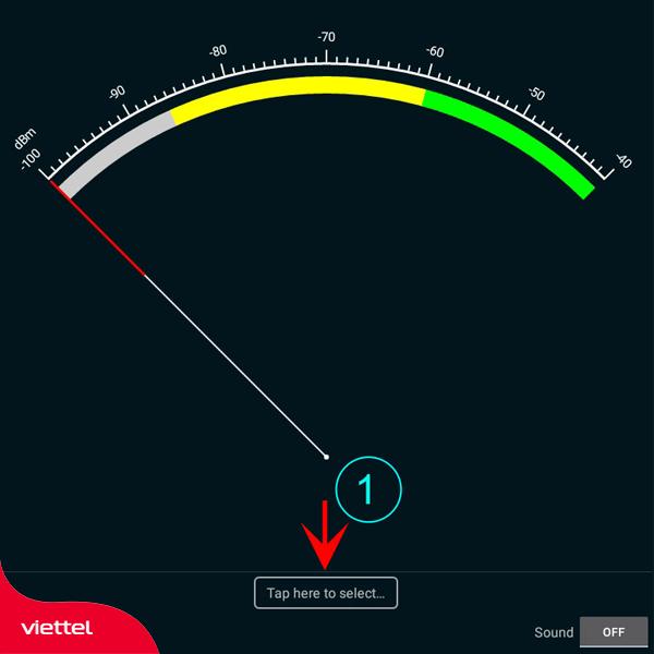 Đo tín hiệu độ phủ sóng wifi RSSI bằng Wifi Analyzer