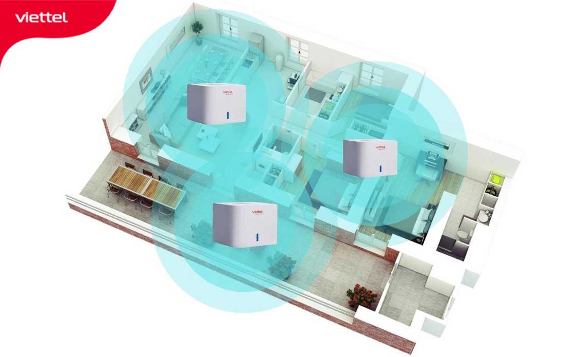 Giải pháp Wifi cho chung cư sử dụng mesh Home Wifi Viettel hiện được nhiều khách hàng ưu tiên lựa chọn.
