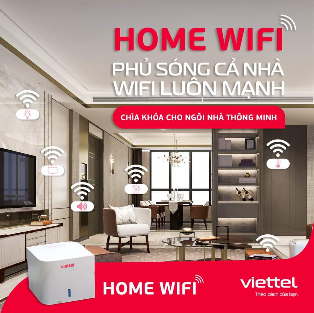 Sử dụng Home Wifi Viettel mở rộng vùng phủ sóng, đảm bảo tốc độ cao và ổn định.