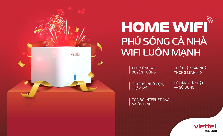 Home Wifi của Viettel được đa số khách hàng sử dụng internet lựa chọn