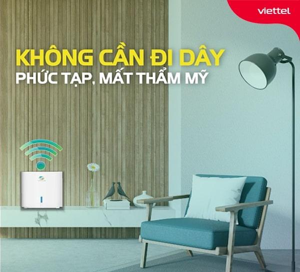 Lắp đặt hệ thống mạng Home Wifi Viettel mang đến tính thẩm mỹ cao hơn cho văn phòng