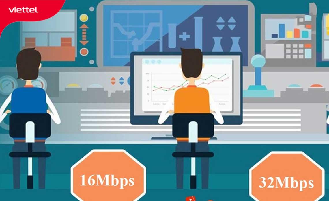 Lựa chọn một gói băng thông phù hợp để các hoạt động mạng được ổn định.