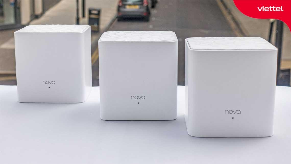 Mesh Wifi Tenda Nova MW3 phù hợp với nhu cầu mạng cơ bản.
