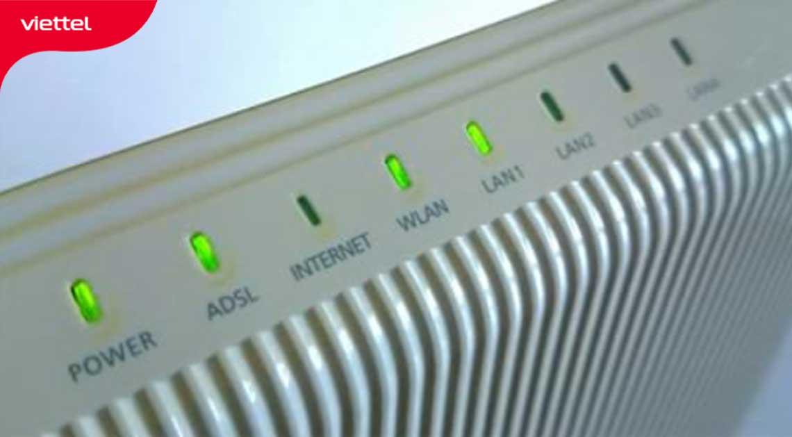 Modem wifi bị lỗi là một trong những nguyên nhân gây wifi Viettel chậm chạp.