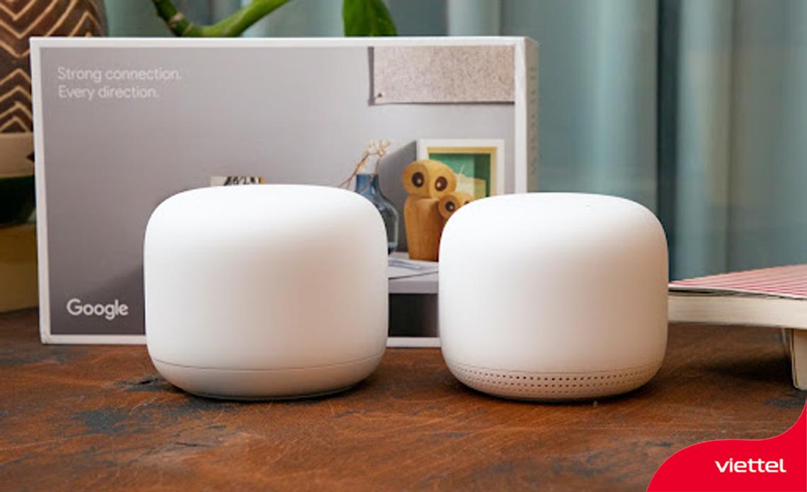 Nest Wifi của Google - Cân bằng hoàn hảo