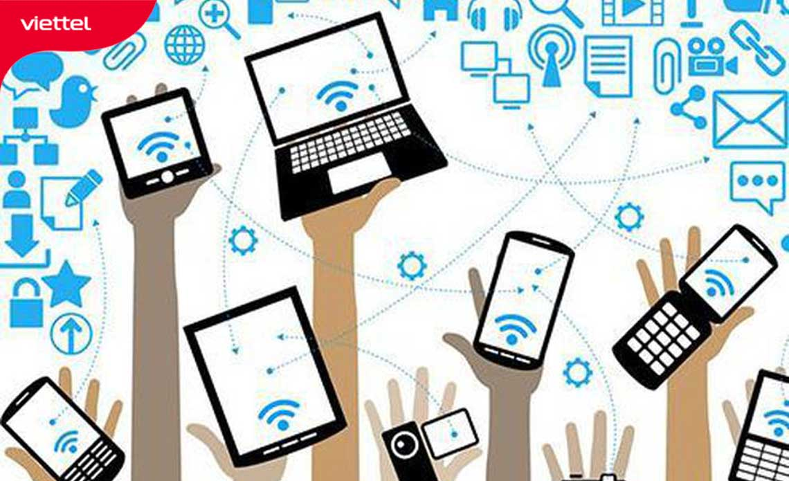 Quá nhiều thiết bị kết nối có thể khiến wifi của bạn bị chập chờn