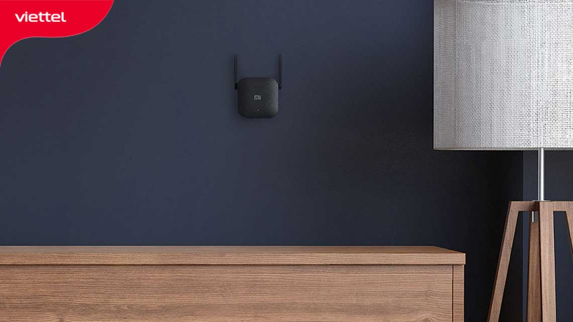 Thiết bị kích sóng Xiaomi Repeater Pro là thiết bị mở rộng vùng phủ sóng cho nhà có diện tích nhỏ tốt nhất