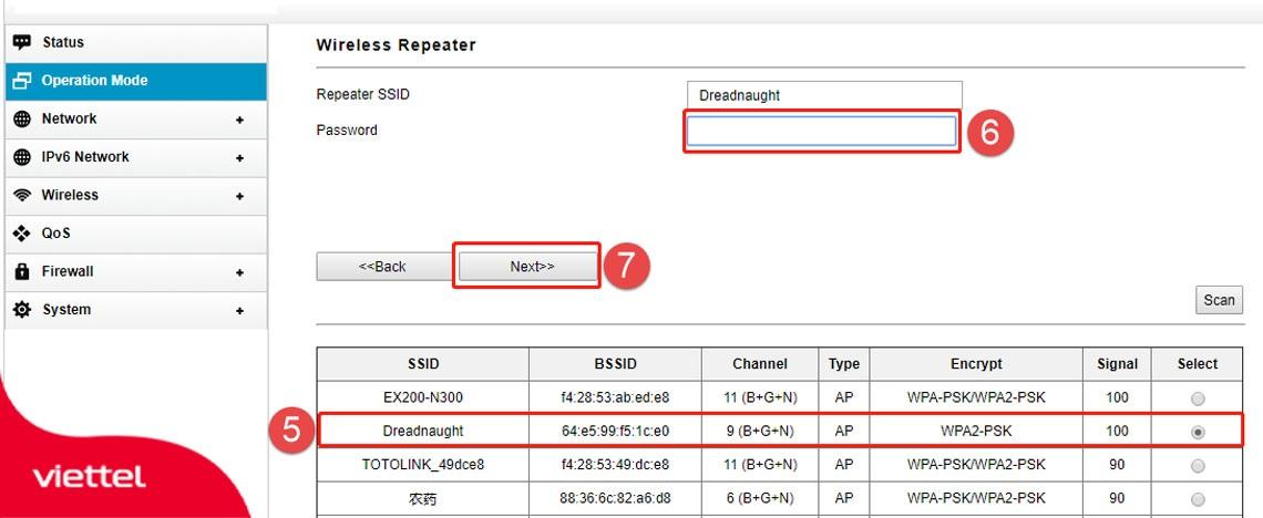 Tìm kiếm và lựa chọn Wifi của Router Wifi chính phát ra