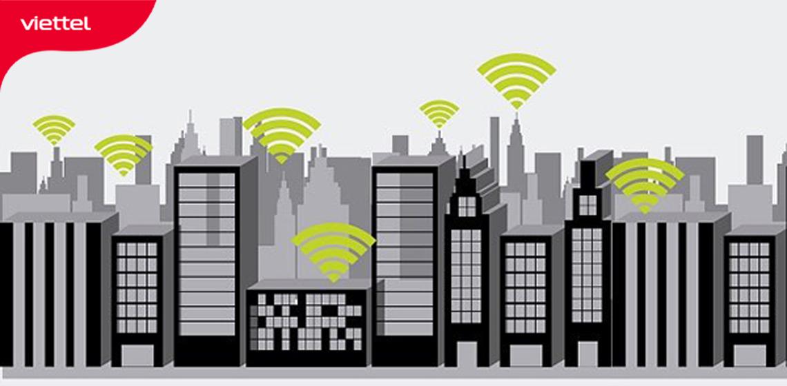 Tình trạng nhiễu sóng wifi 2.4GHz xảy ra phổ biến tại những nơi có mật độ dân cư đông đúc.