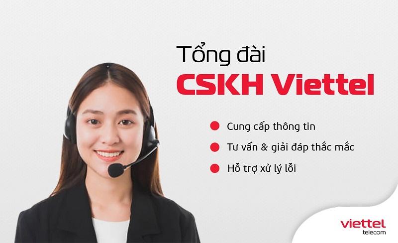 Có thể chủ động liên hệ với Viettel thông qua Hotline