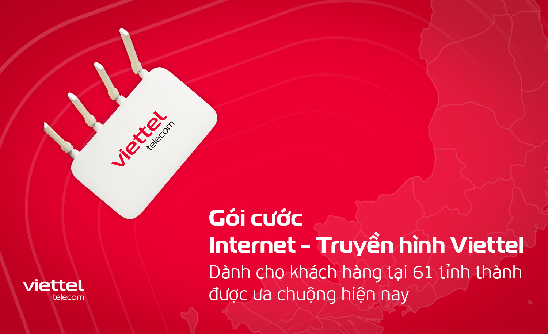 Viettel nhà cung cấp internet truyền hình chất lượng trên toàn quốc