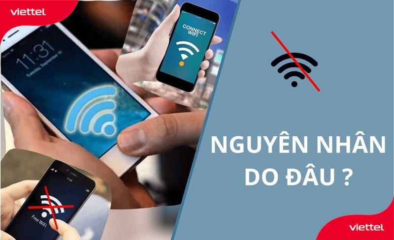 Nhiều khi do điện thoại mà mạng wifi chập chờn lúc mạnh lúc yếu