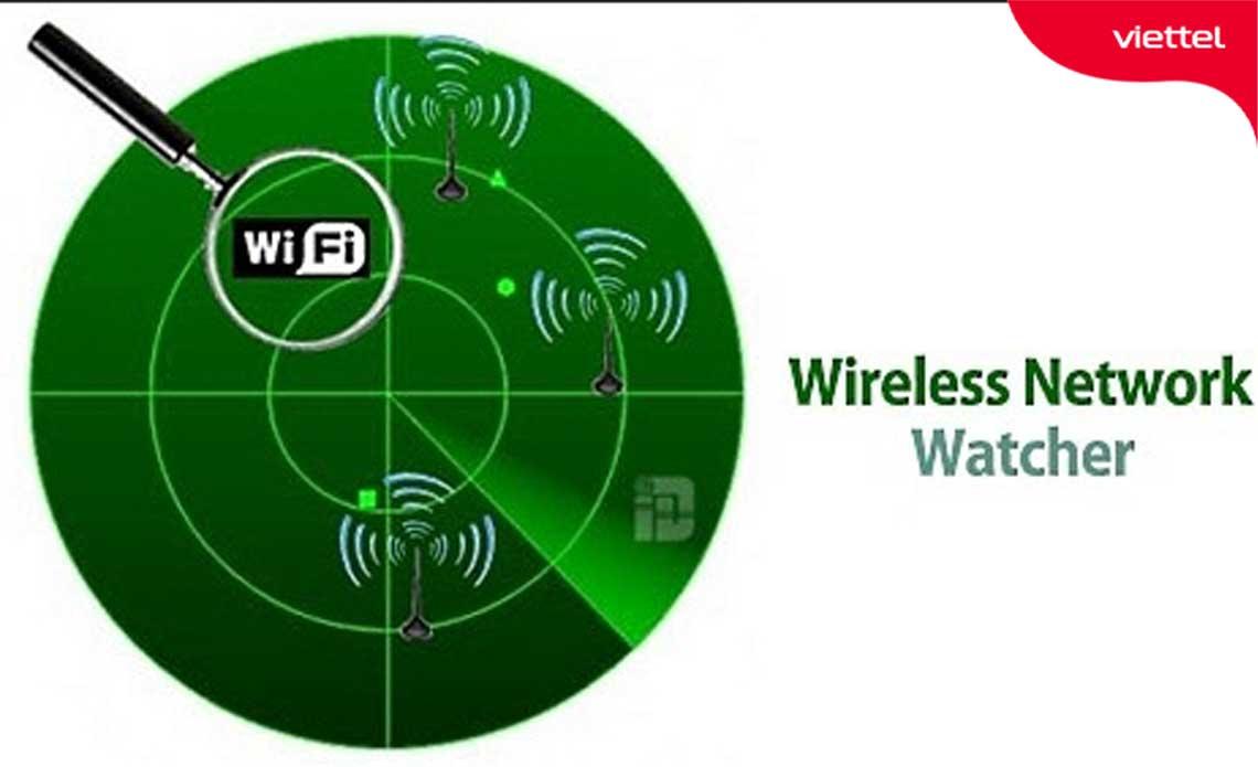 Wireless Network Watcher phần mềm phát hiện thiết bị wifi kết nối trái phép.