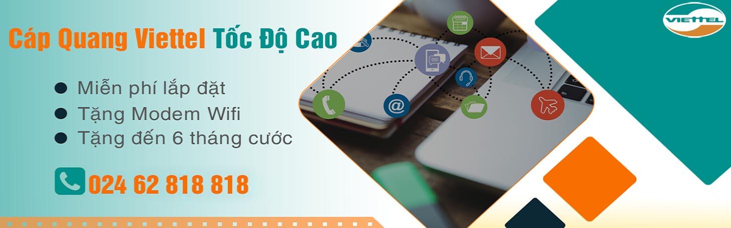 Cap Quang Viettel Gia Rẻ Danh Cho Sinh Vien Chỉ Từ 185000 đồng