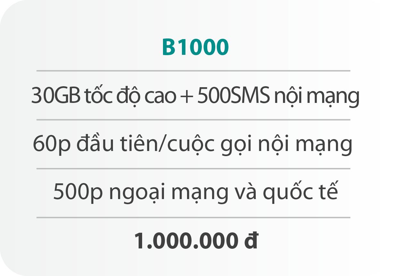 Gói cước B1000